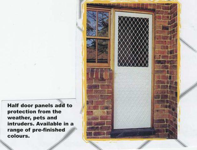 Fly Screen Security Doors