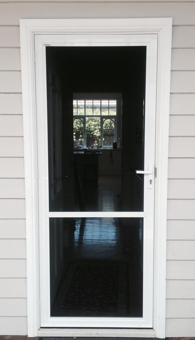 Flyscreen Door With Stainless Steel Mesh $550.00